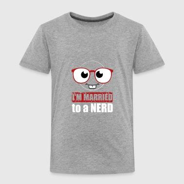 Married to a Computer Nerd T-shirt - Toddler Premium T-Shirt