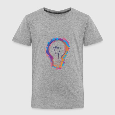 light bulb - Toddler Premium T-Shirt