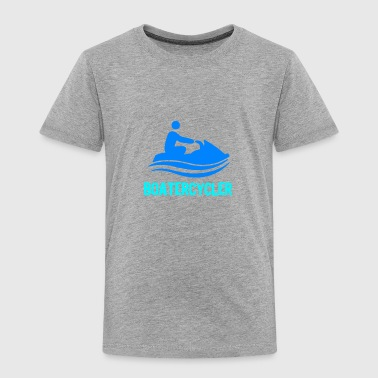 Boatercycler funny Jet Ski - Toddler Premium T-Shirt