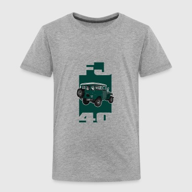 GREEN Toyota FJ40 Landcruiser - Toddler Premium T-Shirt