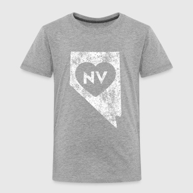 Used I Love Nevada State - Toddler Premium T-Shirt