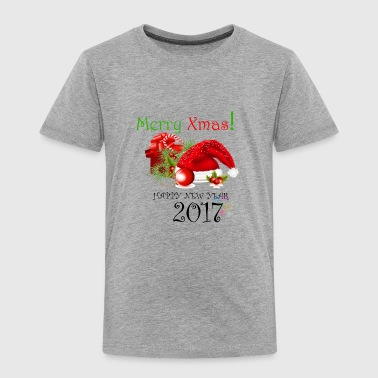Merry Christmas and new year - Toddler Premium T-Shirt