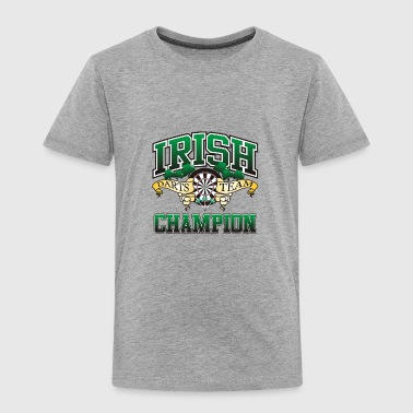 Irish Darts Team Champion - Toddler Premium T-Shirt