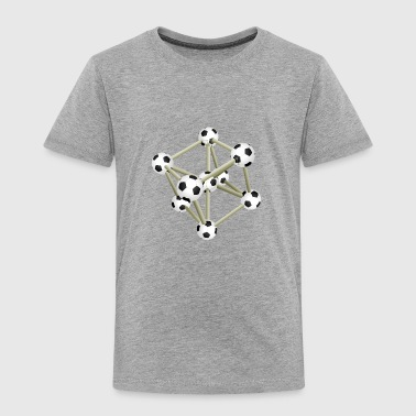 Soccer DNA Atome Molecule Sports - Toddler Premium T-Shirt