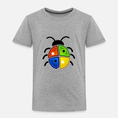 Bug A color bug - Toddler Premium T-Shirt