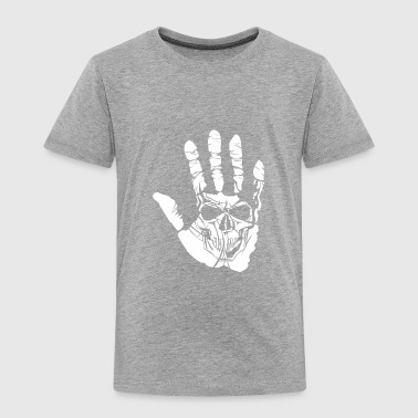 Finger Skull - Toddler Premium T-Shirt