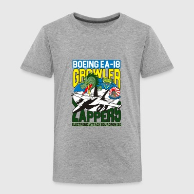 EA-18 Growler, VAQ-130 Zappers - Toddler Premium T-Shirt