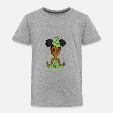 African American African American Earth Witch - Toddler Premium T-Shirt