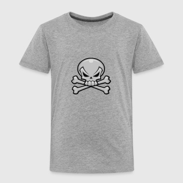 Skull-and-crossbones Skull and Crossbones - Toddler Premium T-Shirt