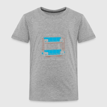 Double Decker Couch - Toddler Premium T-Shirt