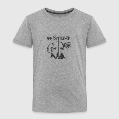 NO DIFFERENT - Toddler Premium T-Shirt