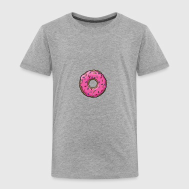 Cartoon Donut - Toddler Premium T-Shirt