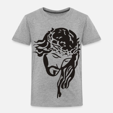 Face Jesus - Toddler Premium T-Shirt