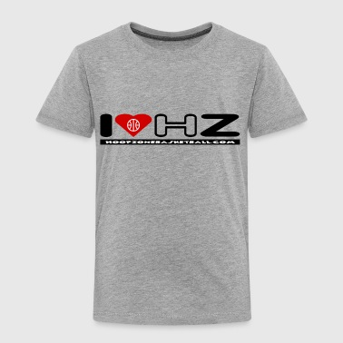 Basketball Hoops Sports Ball Hoopzone Basketball Motivational Inspirational IloveHZ4lite.png - Toddler Premium T-Shirt