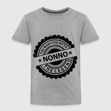 Nonno-The Man The Myth The Legend  - Toddler Premium T-Shirt