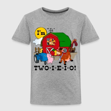 TWO-I-E-I-O - Toddler Premium T-Shirt