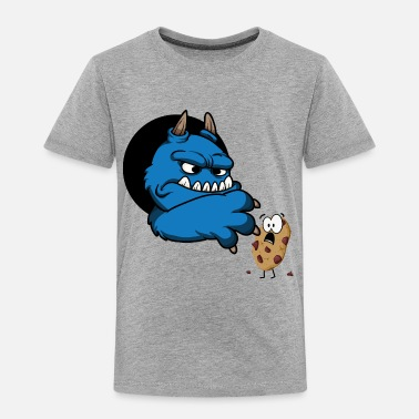 Christmas Cookie monster - Toddler Premium T-Shirt