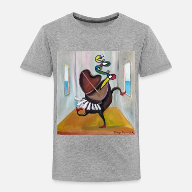 Piano Piano dancer - Toddler Premium T-Shirt
