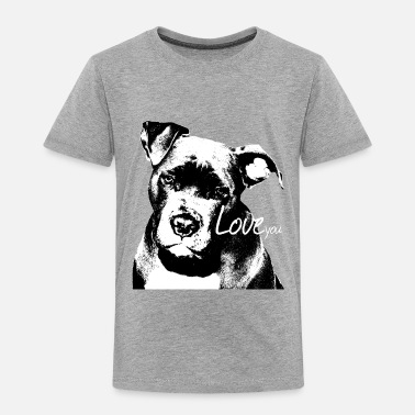 Bull Staffordshire,Bulldog,watchdog, - Toddler Premium T-Shirt