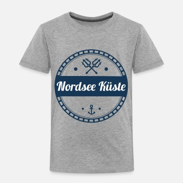 North Sea north sea coast,coast,sea,baltic,north - Toddler Premium T-Shirt