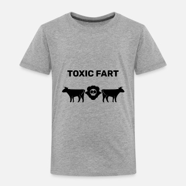 Fart Toxic Fart Black - Toddler Premium T-Shirt