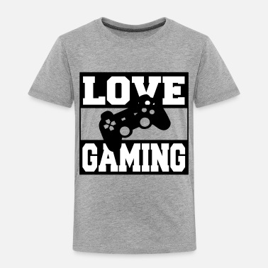 Love Gaming - Toddler Premium T-Shirt