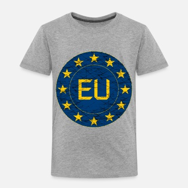 Eu Flag of EU - Toddler Premium T-Shirt