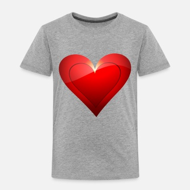 Big Heart Big Heart - Toddler Premium T-Shirt