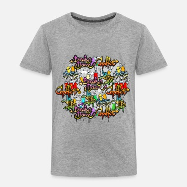 Hip Hop Graffiti hip hop graffiti - Toddler Premium T-Shirt