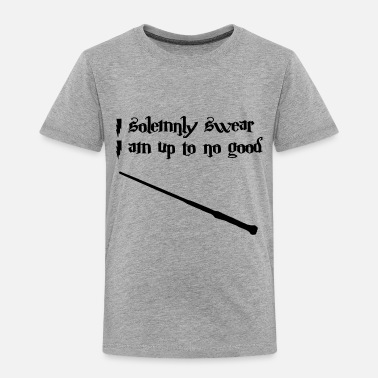 Up Harry Potter I solemnly swear I am up to no good - Toddler Premium T-Shirt