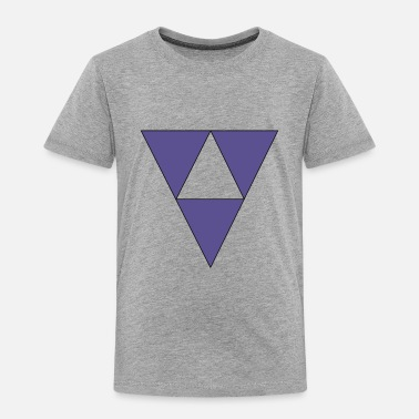 Triangle Triangles - Toddler Premium T-Shirt