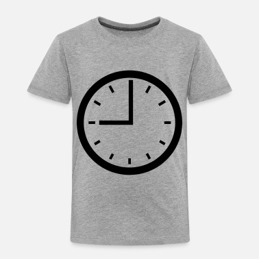 Clock clock - Toddler Premium T-Shirt