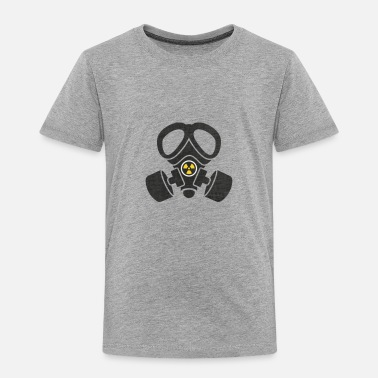 Gas Mask Transparent Background - Toddler Premium T-Shirt
