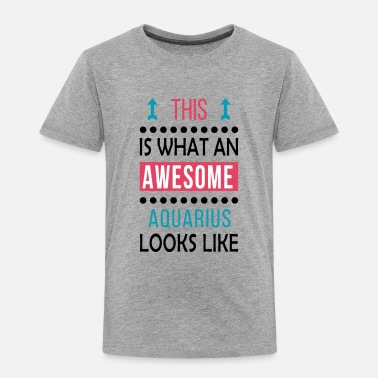 Aquarius Aquarius Love Gift-Awesome Look-Birthday/Christmas - Toddler Premium T-Shirt