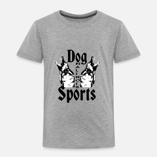Dog Baby Clothing - Malinois,Police dog,Watchdog,dog sports, - Toddler Premium T-Shirt heather gray