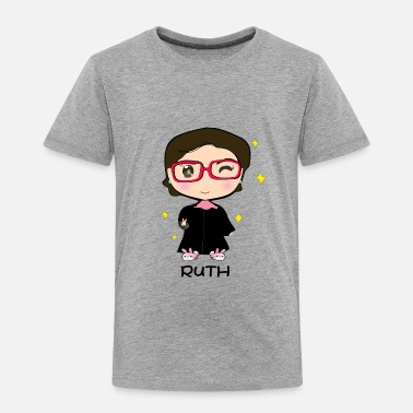 R.b.g R.B.G. Ruther Bader Ginsburg Cute Cawaii Chibi - Toddler Premium T-Shirt
