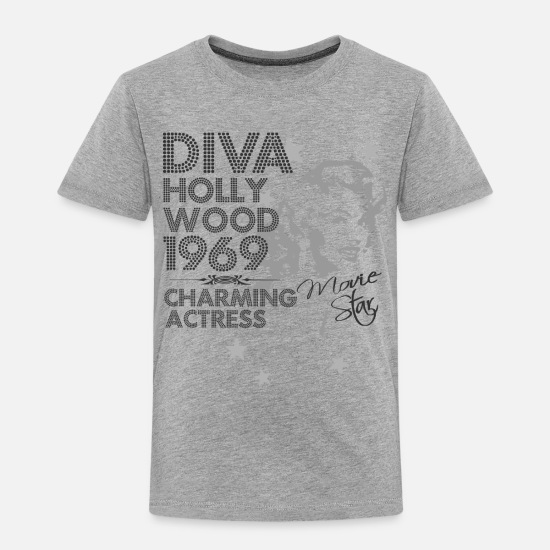 Hollywood Baby Clothing - Hollywood actress - Toddler Premium T-Shirt heather gray