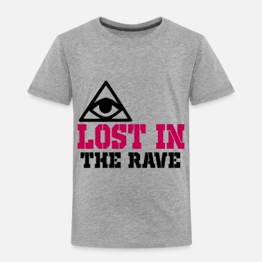 Rave lost in the rave - Toddler Premium T-Shirt