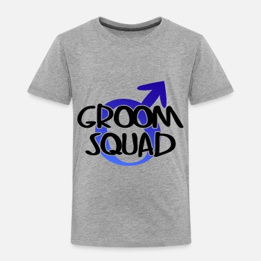 Wedding Party Groom Squad Wedding Party - Toddler Premium T-Shirt