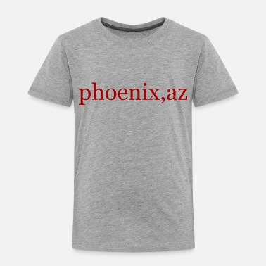 Phoenix Phoenix red lettering gift gift idea - Toddler Premium T-Shirt