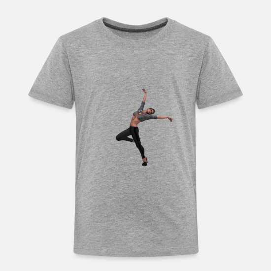 Dancing Baby Clothing - woman - Toddler Premium T-Shirt heather gray