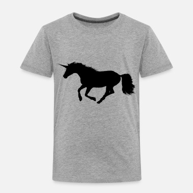 Gallop Wild Galloping Unicorn - Toddler Premium T-Shirt