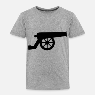 Cannon cannon cannon black tee shirt - Toddler Premium T-Shirt