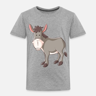 Esel esel donkey ass jackass horse pferd animal tier - Toddler Premium T-Shirt