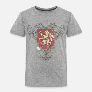Grungy Retro Coat of Arms - Toddler Premium T-Shirt