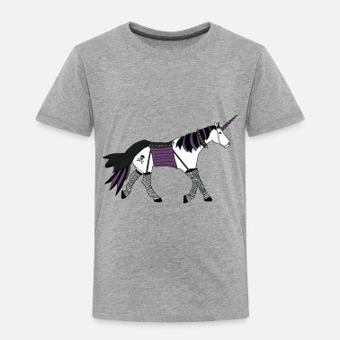 Goth goth unicorn - Toddler Premium T-Shirt