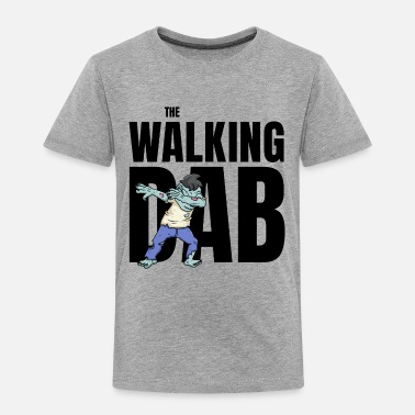Undead The Walking Dab Halloween zombie boy dabbing black - Toddler Premium T-Shirt