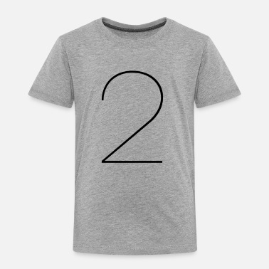 TWO - Toddler Premium T-Shirt