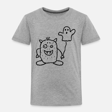 Bimote Halloween - Monster - Toddler Premium T-Shirt