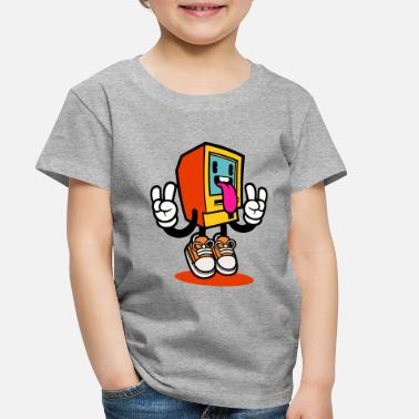 Monitoring Funny Monitor - Toddler Premium T-Shirt